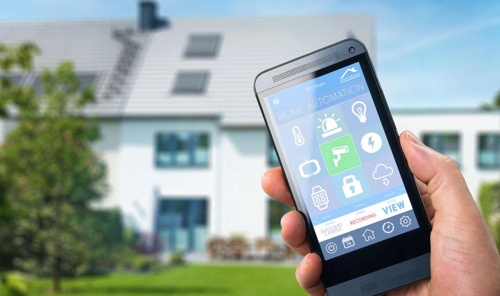Smarthus kan styres fra telefon og nettbrett