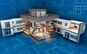 Tjenester som styrer smarte funksjoner i huset